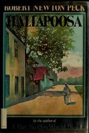 Cover of: Hallapoosa