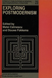 Cover of: Exploring Postmodernism