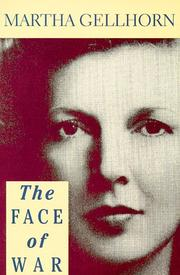 Cover of: The face of war