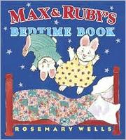 Cover of: Max & Ruby's bedtime book