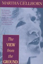 Cover of: The view from the ground