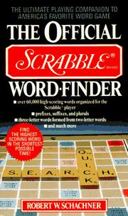 Cover of: The official Scrabble word-finder