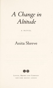 Cover of: A change in altitude: a novel