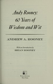 Cover of: Andy Rooney