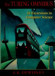 Cover of: The  Turing omnibus: 61 excursions in computer science