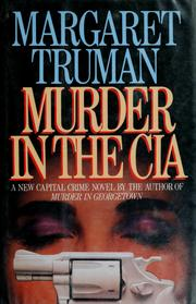 Cover of: Murder in the CIA