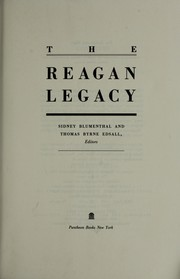 Cover of: The Reagan legacy