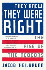 Cover of: They Knew They Were Right