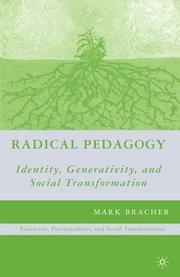 Cover of: Radical Pedagogy