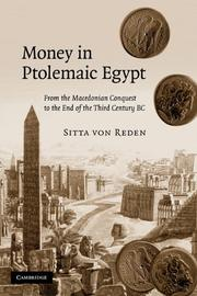 Cover of: Money in Ptolemaic Egypt