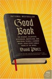 Cover of: Good Book