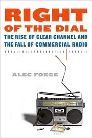 Cover of: Right of the Dial