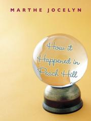 Cover of: How It Happened in Peach Hill