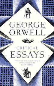 Cover of: Critical essays