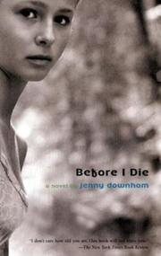 Cover of: Before I Die