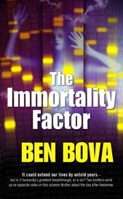 Cover of: The Immortality Factor