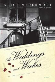 Cover of: At Weddings and Wakes