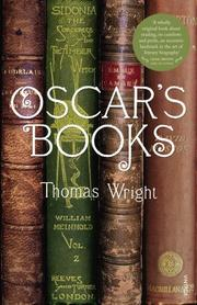 Cover of: Oscar's Books
