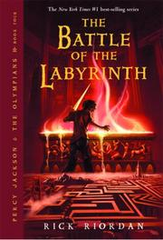Cover of: The Battle of the Labyrinth