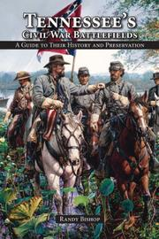 Cover of: Tennessee's Civil War Battlefields