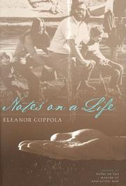 Cover of: Notes on a Life (Applause Books)