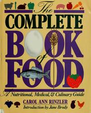 Cover of: Complete Book of Food