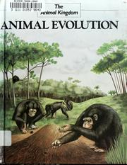 Cover of: Animal evolution