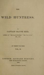 Cover of: The wild huntress