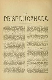 Cover of: Conjuration Wiman-Laurier contre le Canada
