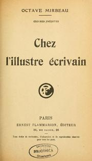 Cover of: Chez l'illustre écrivain