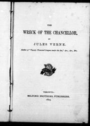 Cover of: The wreck of the Chancellor: diary of J. R. Kazallon, passenger.