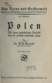 Cover of: Polen