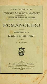 Cover of: Romanceiro