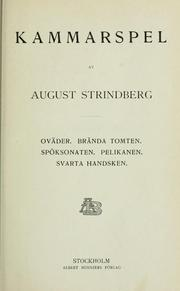 Cover of: Samlade skrifter