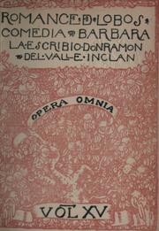 Cover of: Romance de lobos
