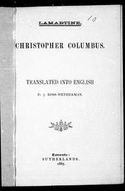 Cover of: Christopher Columbus
