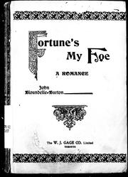 Cover of: Fortune's my foe: a romance