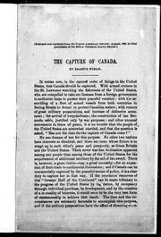 Cover of: The capture of Canada