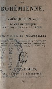 Cover of: La bohémienne