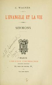 Cover of: L' evangile et la vie