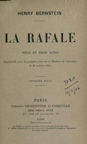 Cover of: La rafale