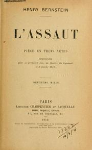 Cover of: L' assaut