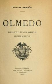 Cover of: Olmedo