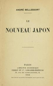 Cover of: Le nouveau Japon.