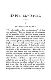 Cover of: India revisited