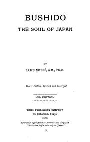 Cover of: Bushido, the soul of Japan