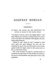 Cover of: Godfrey Morgan: a Californian mystery.