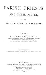 Cover of: Parish priests and their people in the Middle Ages in England