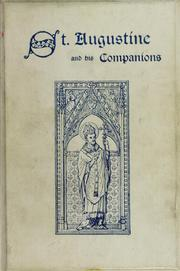 Cover of: Saint Augustine of Canterbury and his companions