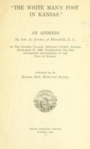 "Cover of: ""The white man's foot in Kansas."""